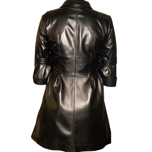 cb9430b4cfe92 China Womens Tan Leather Coat
