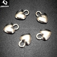 Custom pendent Cute heart shape zinc alloy underwear pendants charm