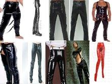 Girls wearing leather latex