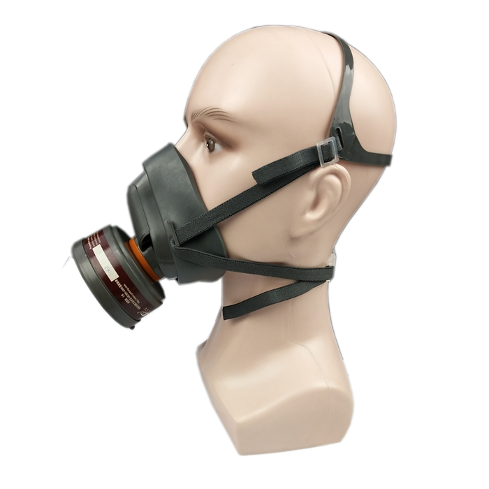 Spray Paint Mask >> Rubber Chemical Half Respirator With One P A 1 Filter Spray Mask For Painting Buy Spray Mask Spray Painting Mask Spray Mask For Painting Product On
