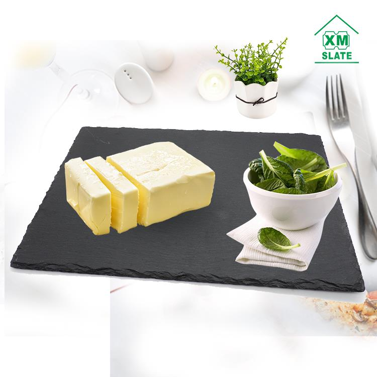 [factory direct ]Wholesale natural slate stone cheese sushi dishes series products