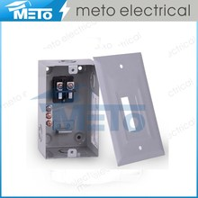 50 Amp 125a 2 br federal fpe fuse circuit breaker box/10 pair event power floor distribution box/electrical generac load center
