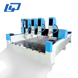 high speed granite cutting machine/stone engraving tools/multi head cnc router