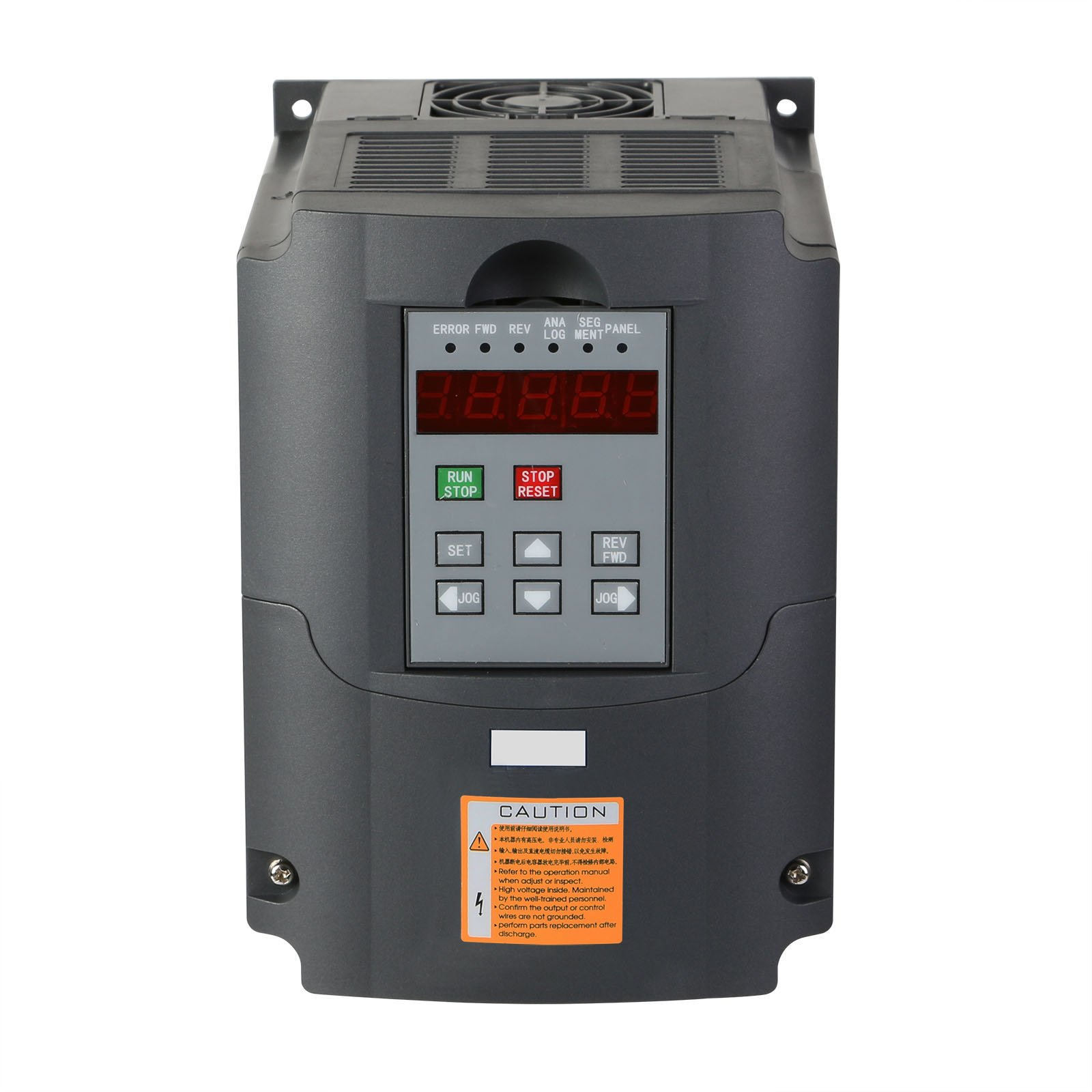 Mophorn VFD Drive VFD Inverter 220V 2.2KW 3HP Frequency Drive Inverter Professional Variable Frequency Drive VFD for Spindle Motor Speed Control (2.2KW VFD)