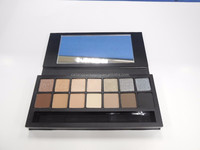 China Supplier OEM Eyeshadow Makeup Paper Palette/ Empty Eye shadow Packaging/ Cosmetic Paper Box with Mirror