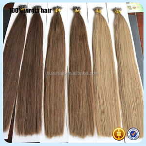 Forever free package 20inch 1g/strand sales well online double drawn russian nano tip hair