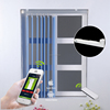 ZM059 JNS hotel vertical beauty pvc window blinds / autumatic curtains system