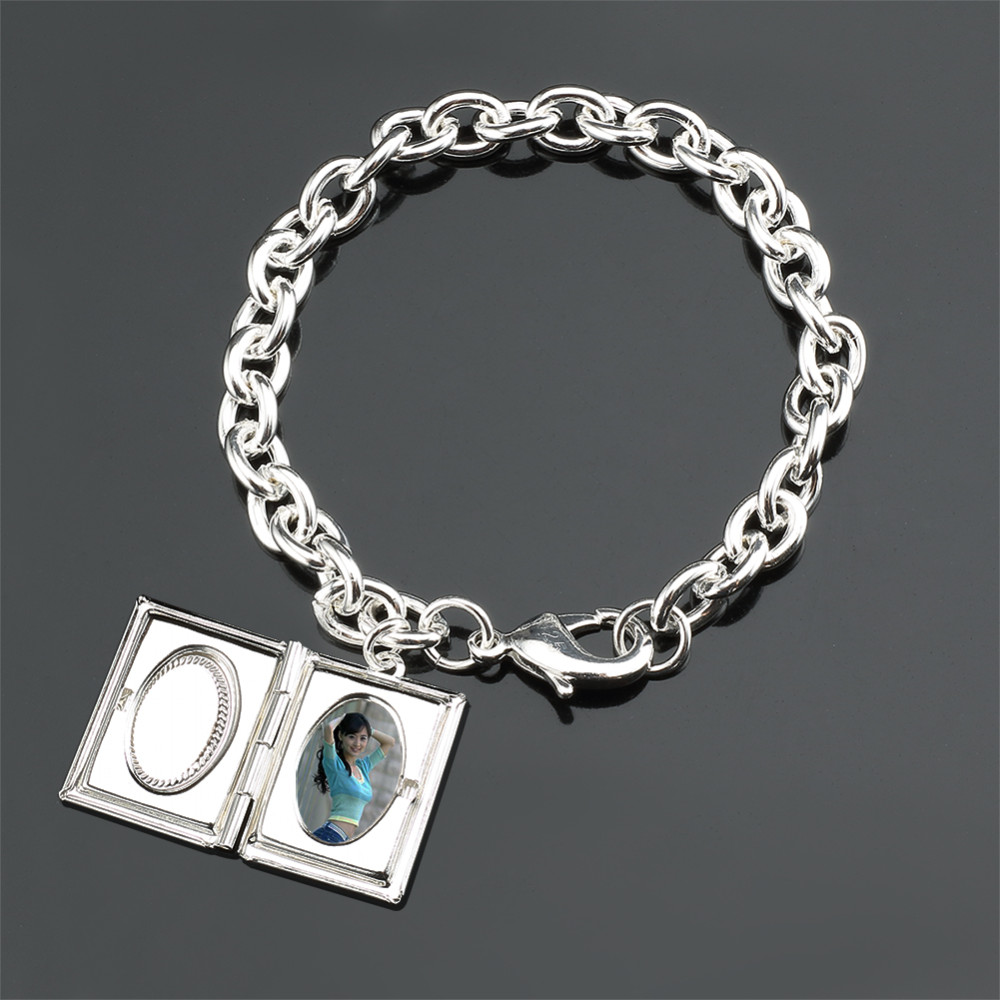 Schmuck Geschenk 925 Sterling Silber Quadrat Bilderrahmen ...