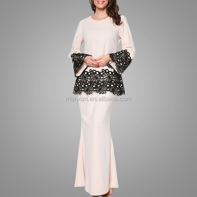 Lace Dress Modest Baju Kurung Model Malay Tudung Muslim Women Wear Festival Baju Kebaya Buy Lace Dress Baju Kurung Festival Baju Kebaya Product On