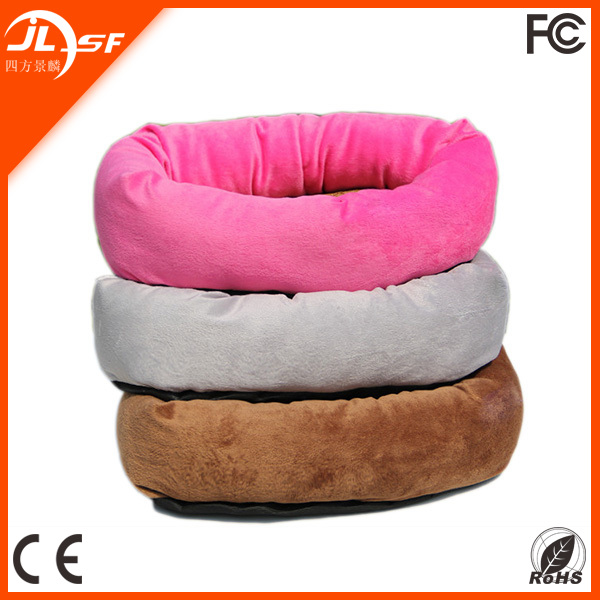 Soft Plush Bed with Bamboo Webbing Dog bed from China Pet Factory