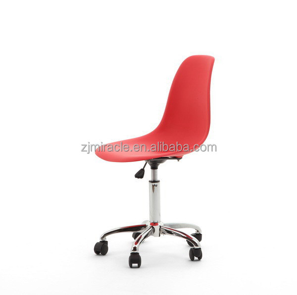 Good quality hot-sale four legs office chairs without wheels