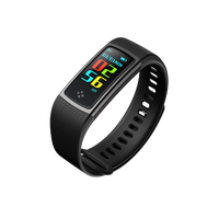 New Arrival Silicone Colorful Straps Sport Bluetooth Bracelet Smart Watch With Heart Rate Monitor S9