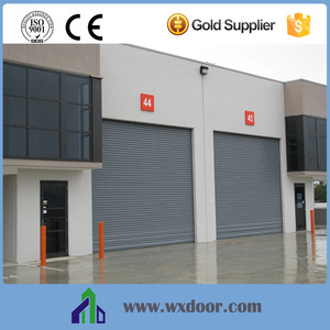 Industry Remote Control Roller Shutter Windproof Door