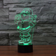 3d Acrylic Led Night Light Custom Lava Lamp