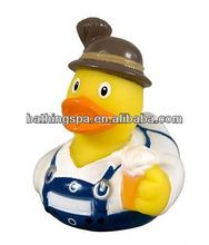 Hot selling blue rubber duck