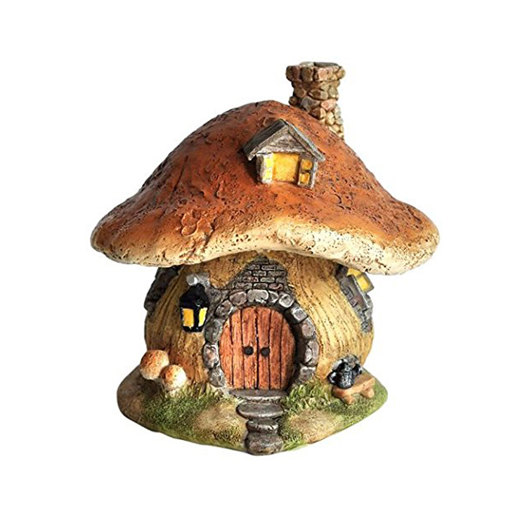 garden fairy house, bird house, wooden like house