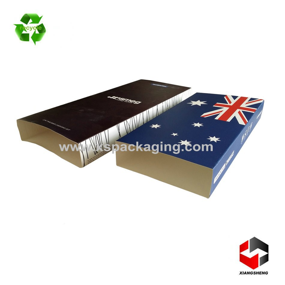 disposable cheap custom printed paper box sleeve