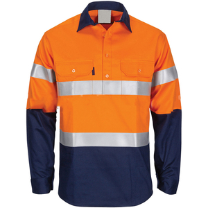 Safety fire proof workwears work shirt with reflective tape