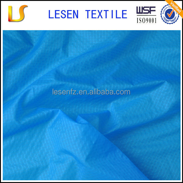 Lesen textile 15 denier ripstop nylon for jacket