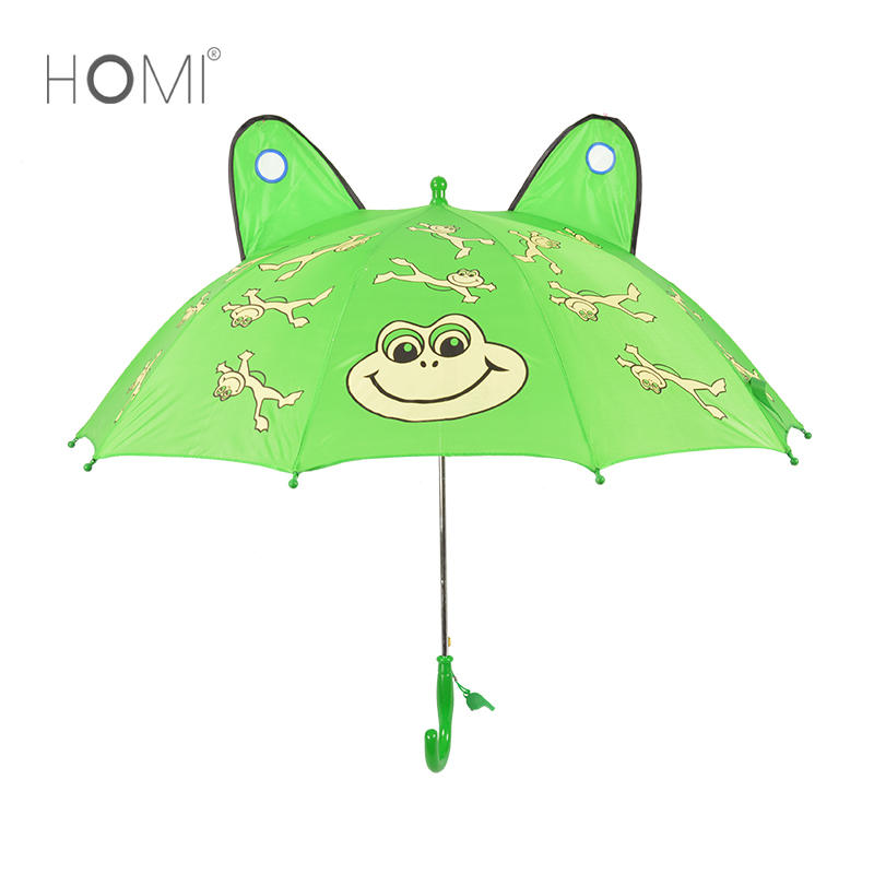 Chinese supplier wholesale cheap small frog animal shape kid umbrella