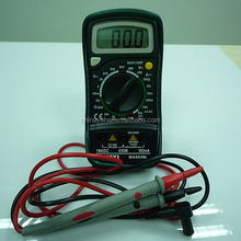 Mini Digital Multimeter AC/DC Ammeter Tester MAS830L LCD backlit display DC AC Voltage Current Meter Tester