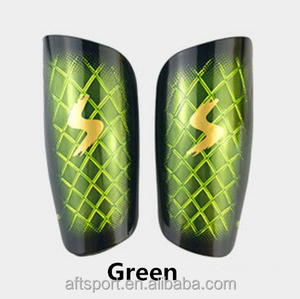 2018 Jumbo Padding Sublimated Newstyle Custom Design Football Soccer Shin Guards