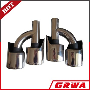 Stainless Steel Exhaust Muffler Tip For W204