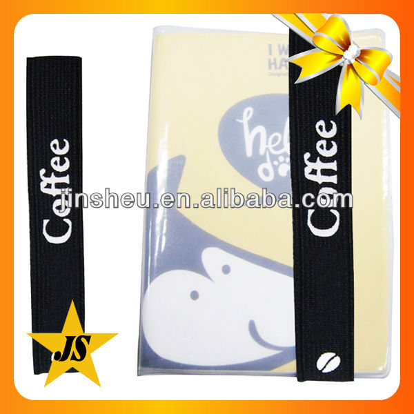 School supply stationery elastic band notebook