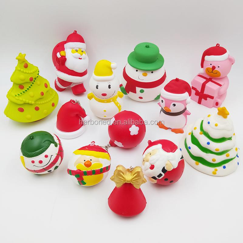 Squishy Árbol Kawaii Animales Decoración Animados Navidad Bola Aumento Teléfono Regalo Lento Correa Del La Dibujos De Divertido dCxWorBe