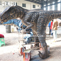 Entertainment park professional animatronic dinosaur costume adult