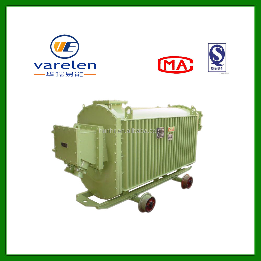 1600KVA Mine flameproof conventer outdoor mobile substation