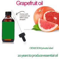 Private label offered Organic Pure Grapefruit Essential Oil