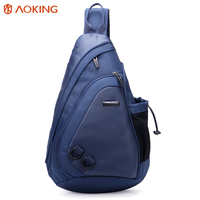 custom crossbody chest shoulder bag waterproof mens shoulder rope sling bag