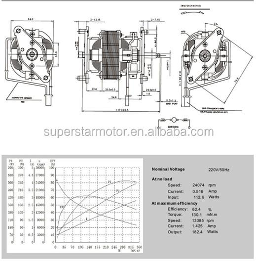 Entsafter Motor/universal Motor/spaltpolmotor Induktionsmotor - Buy ...