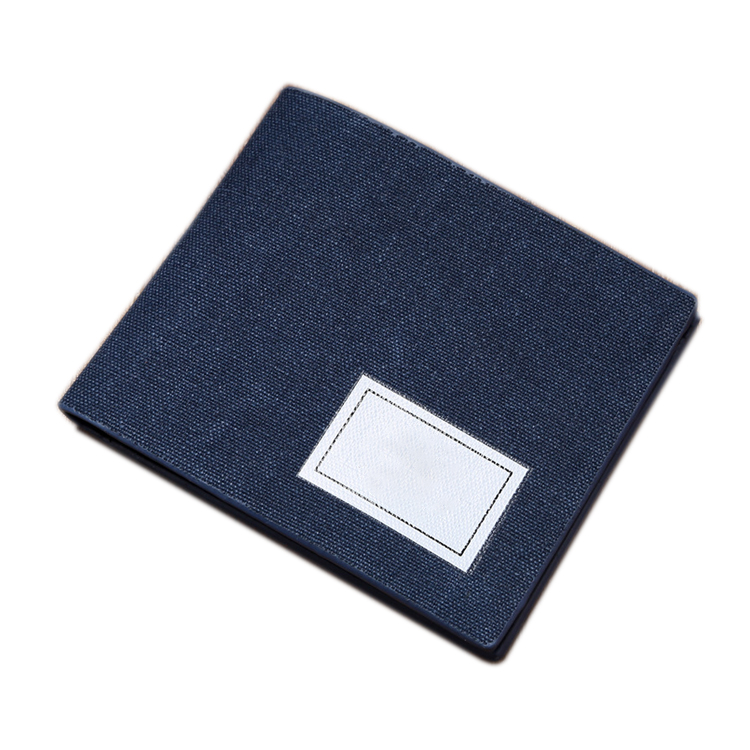 New Fashion Canvas Cotton Card Holder Coin Purse Young Men Slim Wallets