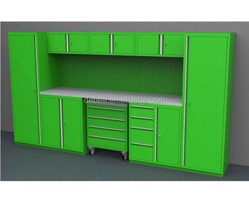 Metalen Opbergkasten Garage : Garage kasten opslag tool locker systeem met werkplaats buy garage