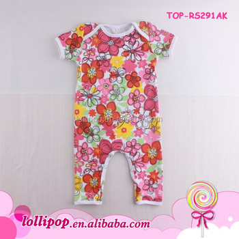 Baby Clothes Carters Dropship Onesie Pajamas Suit Short Sleeve
