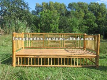 Outdoor Daybed Bd 057 Bamboo Furniture