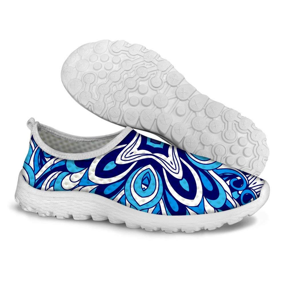 PaintYou Fashion Print Slip-on Lightweight Walking Shoes Breathable Sneakers for Men Women