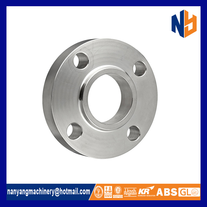 Thread spectcle blind spade flange