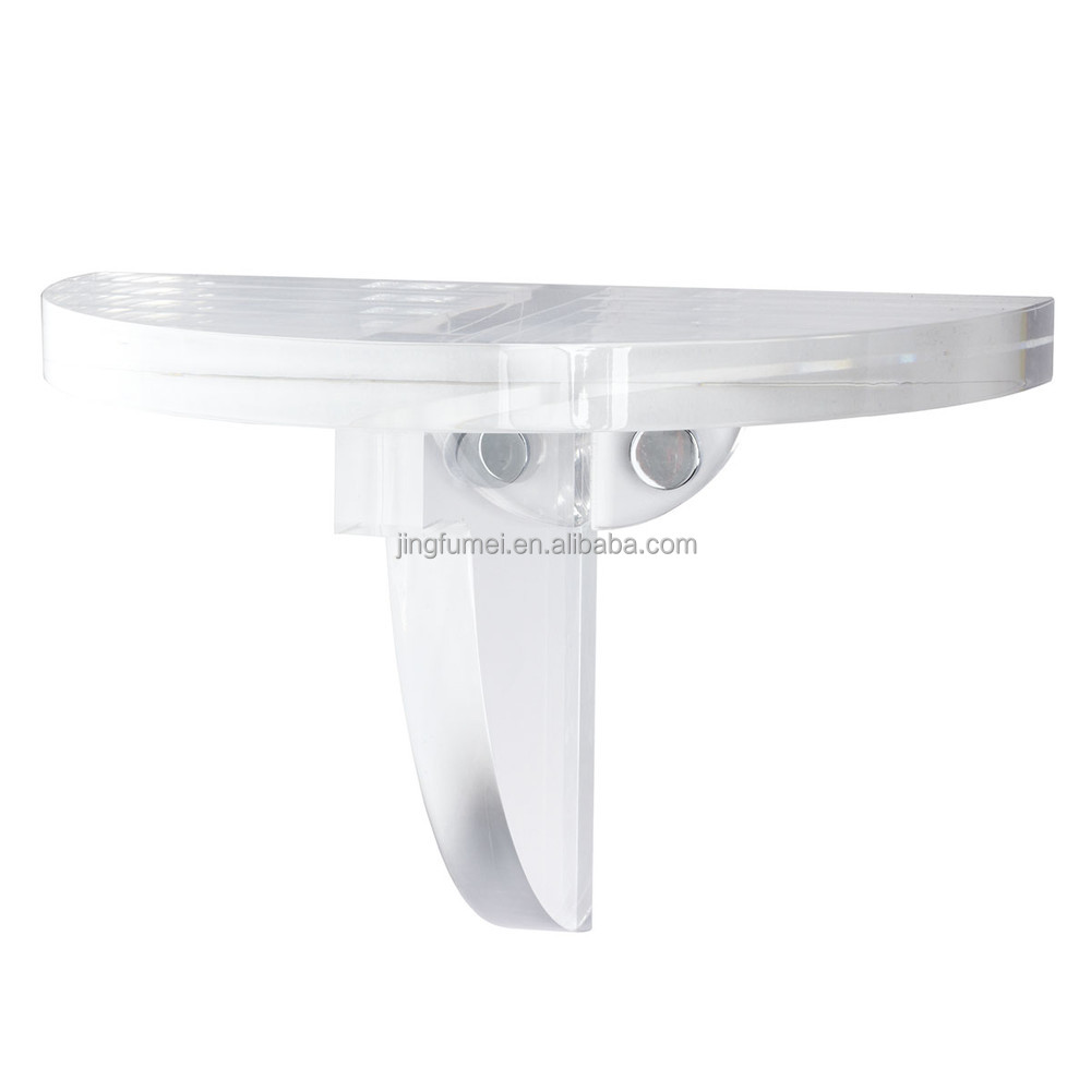 Customized High Quality Clear Acrylic Wall Floading Bracket