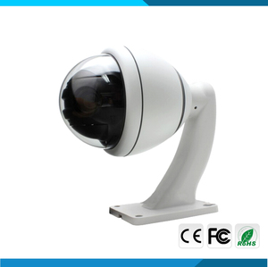 1080P 4 in 1 output Auto Tracking 10X Zoom/Pan/Tilt mini outdoor ptz dome camera support IP66 with Coaxial cable control