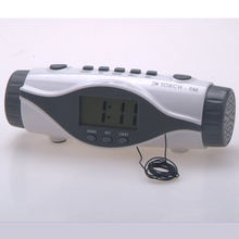 Radio Controlled Clock Snooze,Bathroom ,Retro Alarm Clock Radio