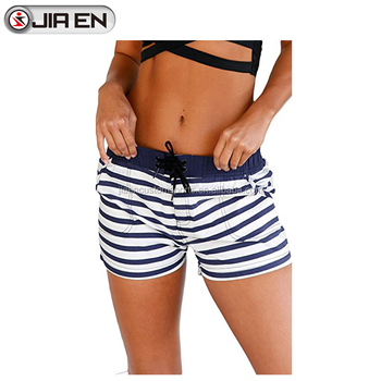 Sexy swim shorts for women