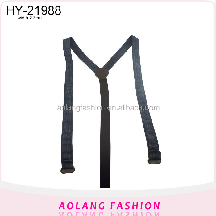 Fashion suspenders pant cowboy belt new style