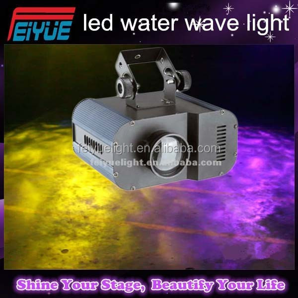 DJ Gobo 20W LED Water Effect wave lighting/led colorful water wave stage light