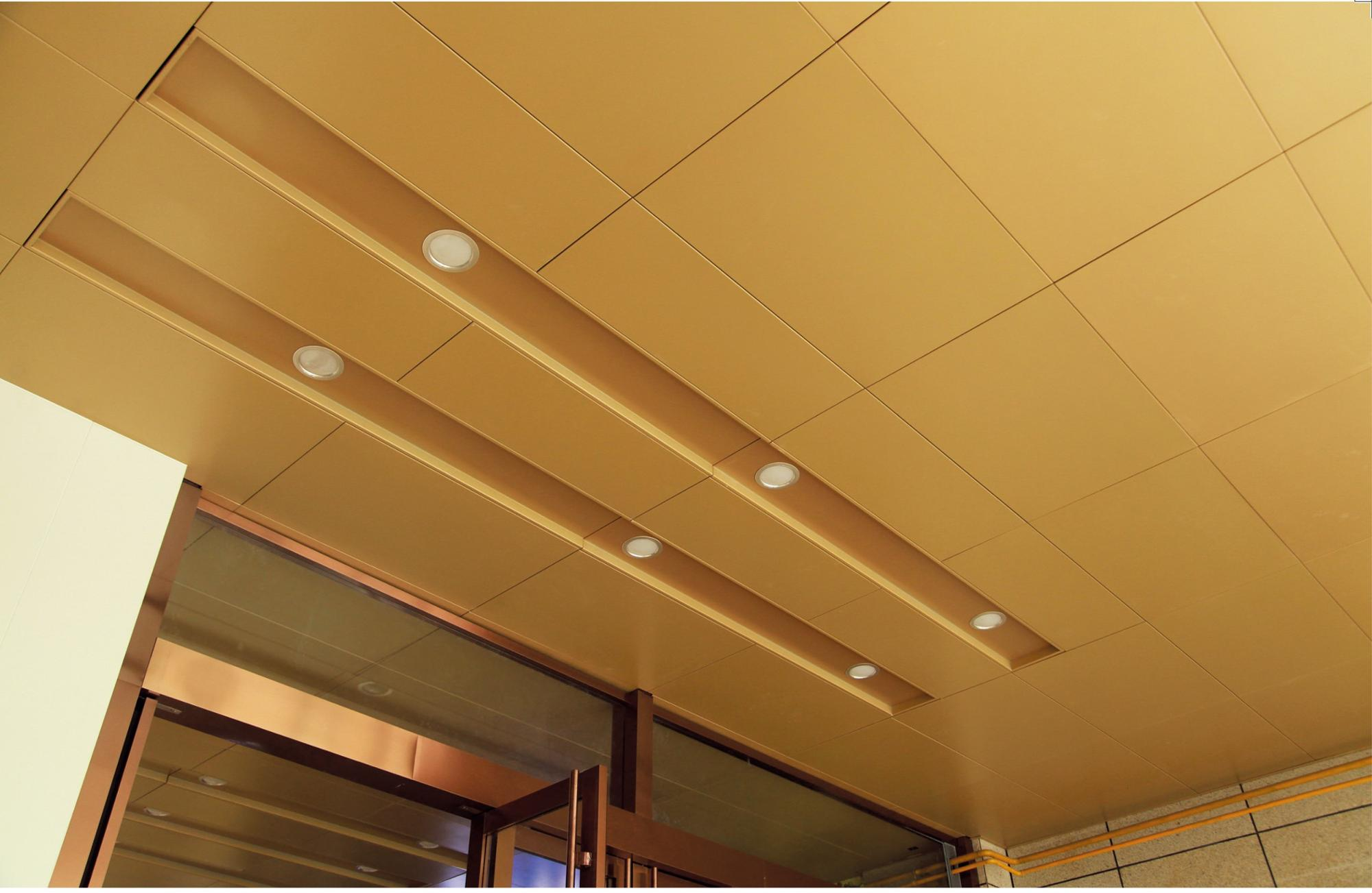 Perforated Particle Board Aluminum Baffle Ceiling Buy High Quality