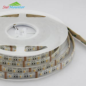 4 Color In 1 LED 5050 RGB+W LED Strip Light 12V 24V Waterproof