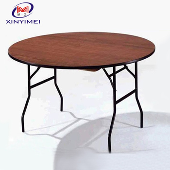 Banquet Round Table Stacking Folding Banquet Hall Table