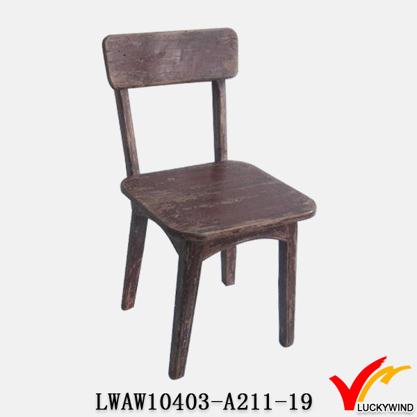 Sturdy Handmade Erythrine Distressed Antique Wood Office Chair